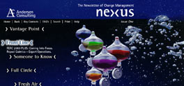 Nexus intranet solution screenshot